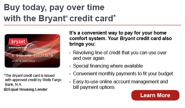 Bryant Credit Card